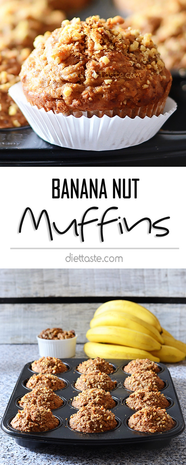 Banana Muffins Out Of Cake Mix