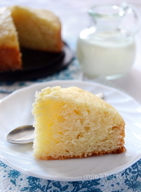 Cake without eggs and butter for Cake recipe without butter