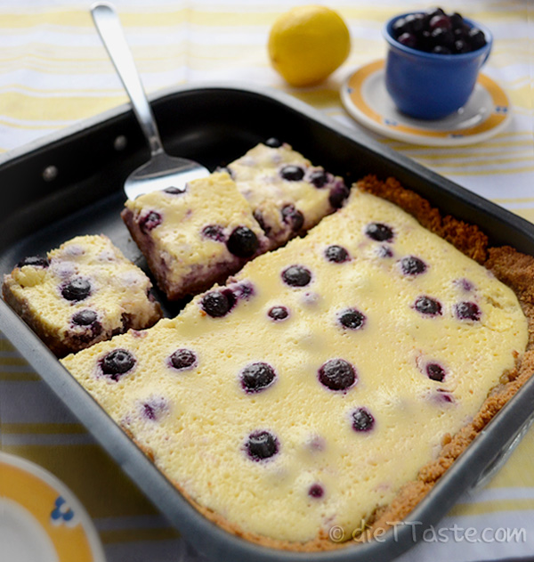 Lemon Blueberry Bars Images & Pictures - Becuo