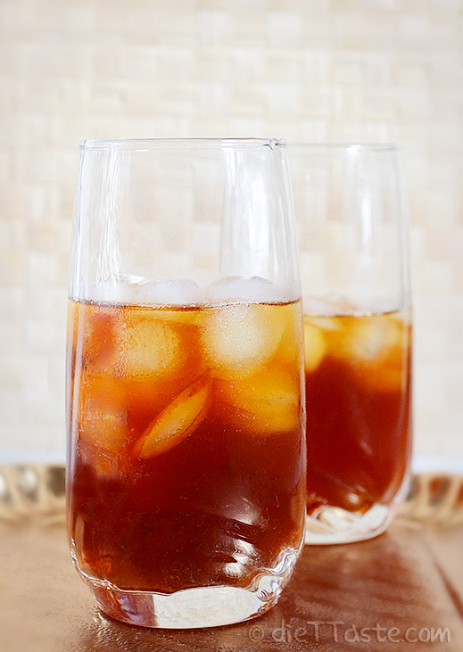 thai iced tea is a popular iced drink from thailand made from very ...