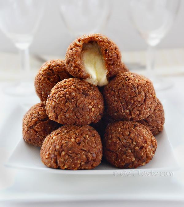 Quinoa Pizza Balls - diettaste.com
