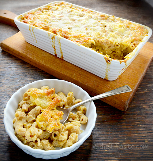 Sweet Potato Macaroni and Cheese