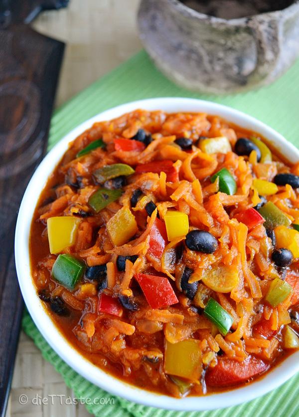 Chakalaka diet taste for African cuisine pictures