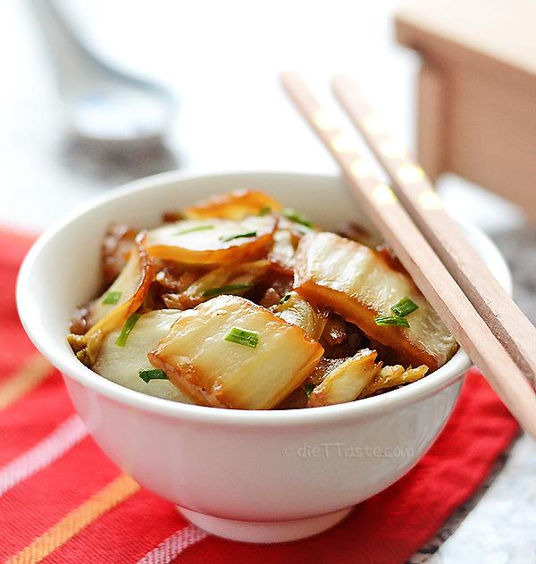 Napa cabbage stir fry kitchen nostalgia napa cabbage stir fry diettaste forumfinder Gallery