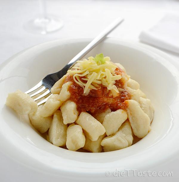 White Sweet Potato Gnocchi