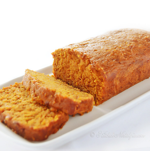 Moist Pumpkin Bread - see what is the trick to keeping it super moist ...