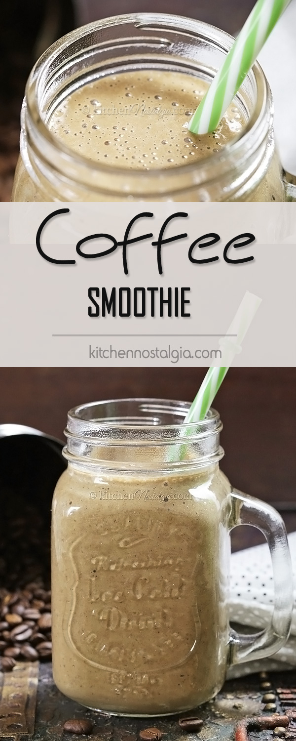 Coffee Smoothie - best, quickest and healthiest breakfast for every coffee lover!