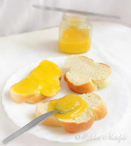 Lemon Curd - easy recipe for velvety, zingy and zesty spread, done in ...