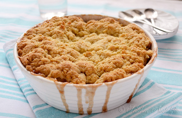 Bisquick Apple Cobbler - from kitchennostalgia.com