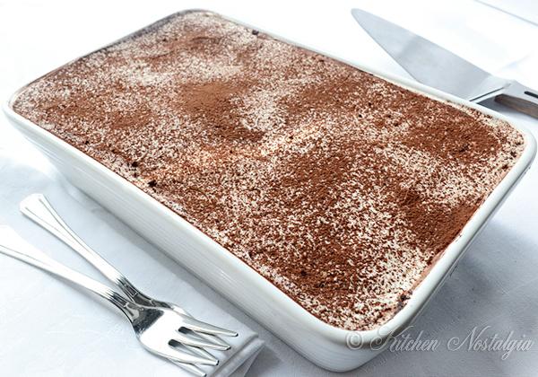 Easy Tiramisu Cake Recipe Without Eggs