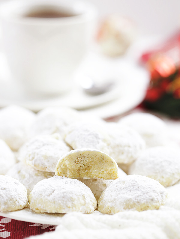 Russian Tea Cakes - melt-in-your-mouth snowball cookies to sweeten every holiday celebration