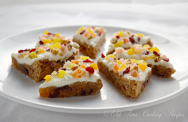 ... holiday cookie recipe loaded with all the flavors of a fruitcake