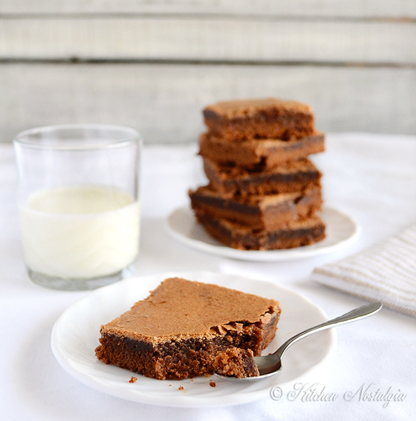Katharine Hepburn's Brownies | Kitchen Nostalgia