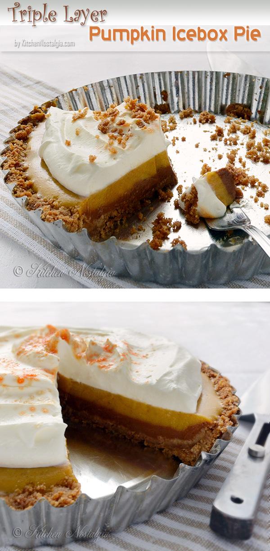 Icebox Pumpkin-Mousse Pie Recipe — Dishmaps