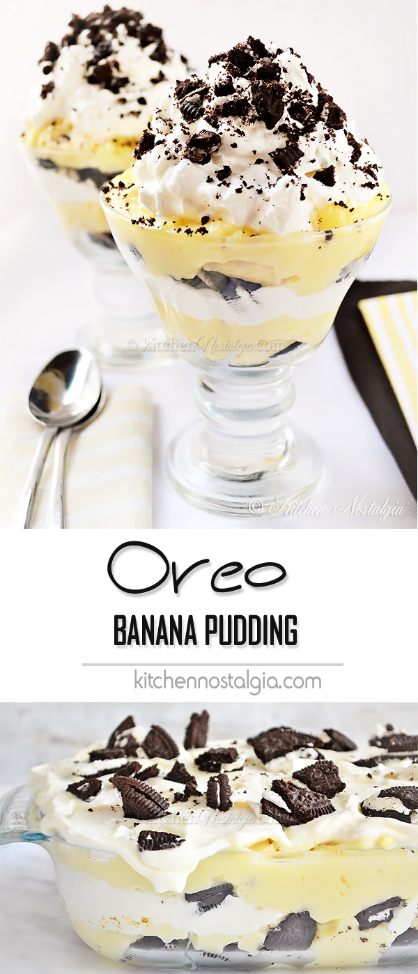Oreo Banana Pudding