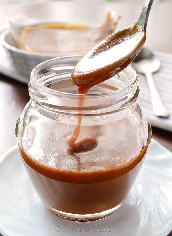 Salted Caramel Sauce | Kitchen Nostalgia