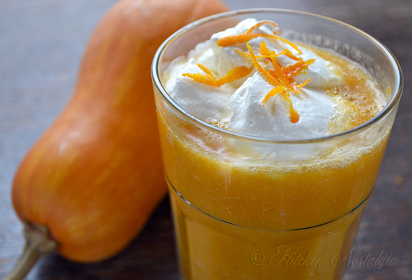 Pumpkin Smoothie | Kitchen Nostalgia