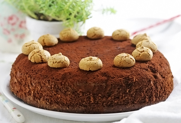 Easy Amaretti Chocolate Cake