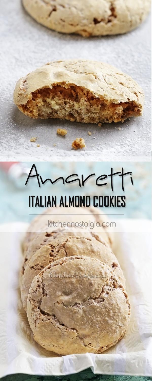 AMARETTI Italian Almond Cookies