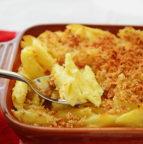 recipe for homemade Macaroni and Cheese comes from 1861 Civil War ...