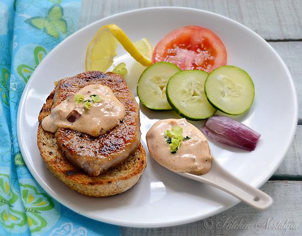 Homemade Baconnaise - bacon-flavored mayonnaise.