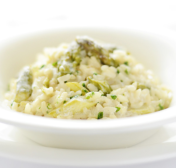 Asparagus Risotto - Asparagus Risotto - creamy and indulgent, a quick ...
