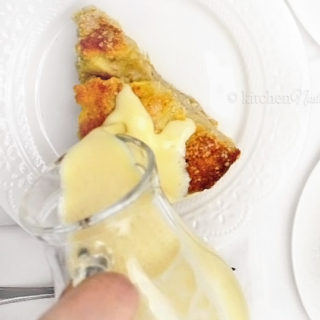 Egg Custard Sauce