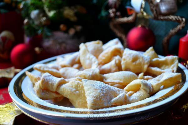 CROSTOLI - Italian Bow Knot Cookies