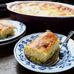 BUCNICA (Squash Cottage Cheese Strudel)