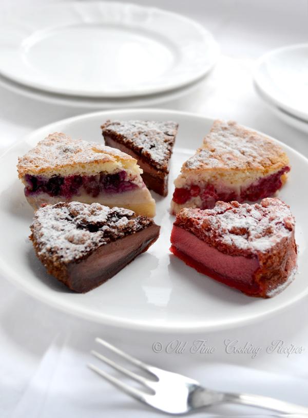 Magic Cake, Part II - Chocolate, Red Velvet, Fruit