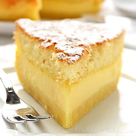 Vanilla Custard Magic Cake