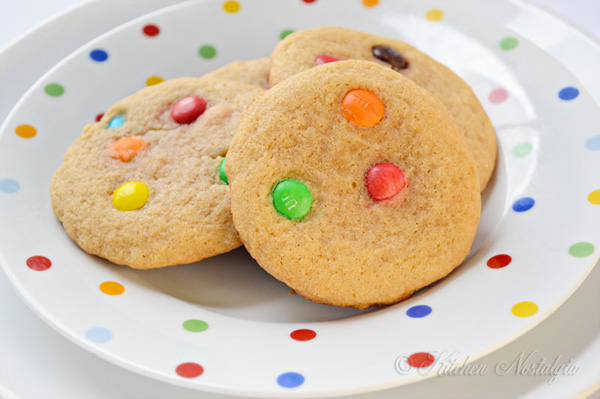 MM Cookie Recipe - fluffy, chewy and moist