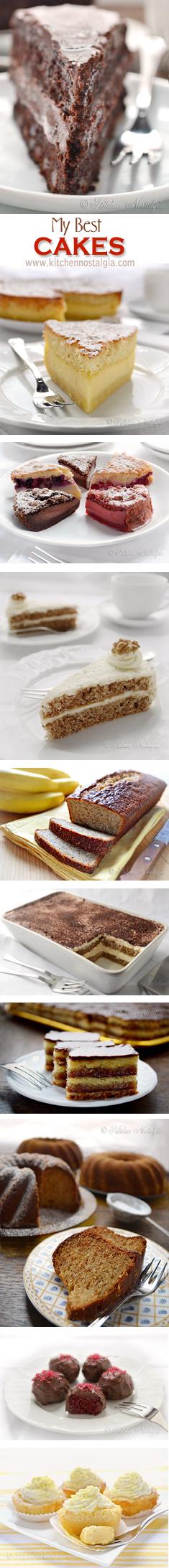 My Best CAKES - http://www.kitchennostalgia.com
