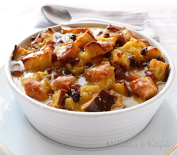 Old Fashioned Bread Pudding Recipe Youtube