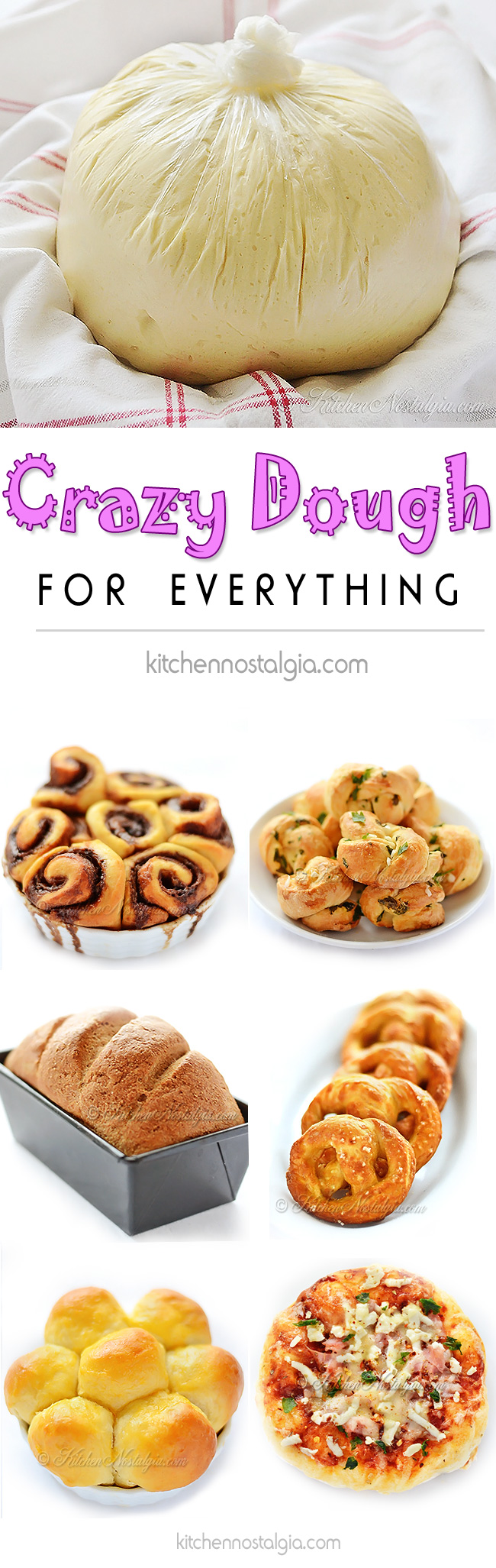 Crazy Dough for Everything - by kitchennostalgia.com