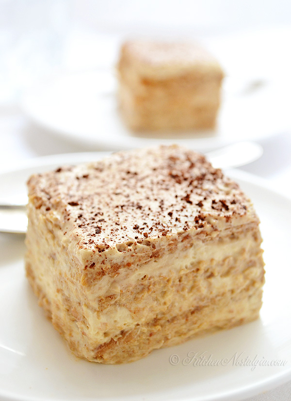 Cappuccino Icebox Cake - kitchennostalgia.com