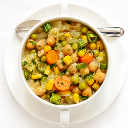 Chickpea and Cabbage Soup
