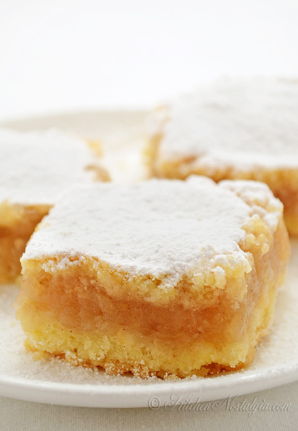 Apple Pie Bars - Croatian Pita Recipe