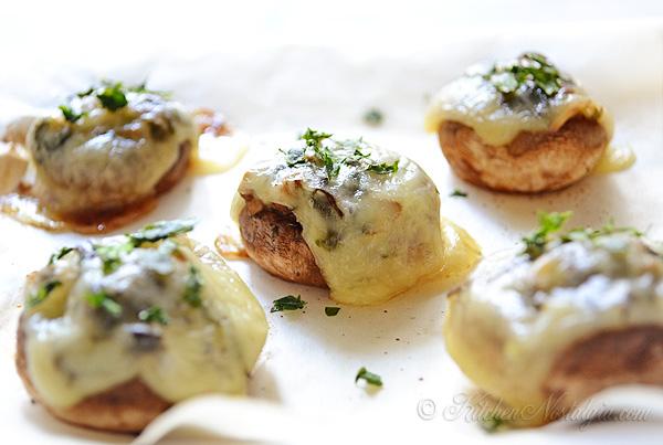 Baked Portobello Mushrooms Kitchen Nostalgia