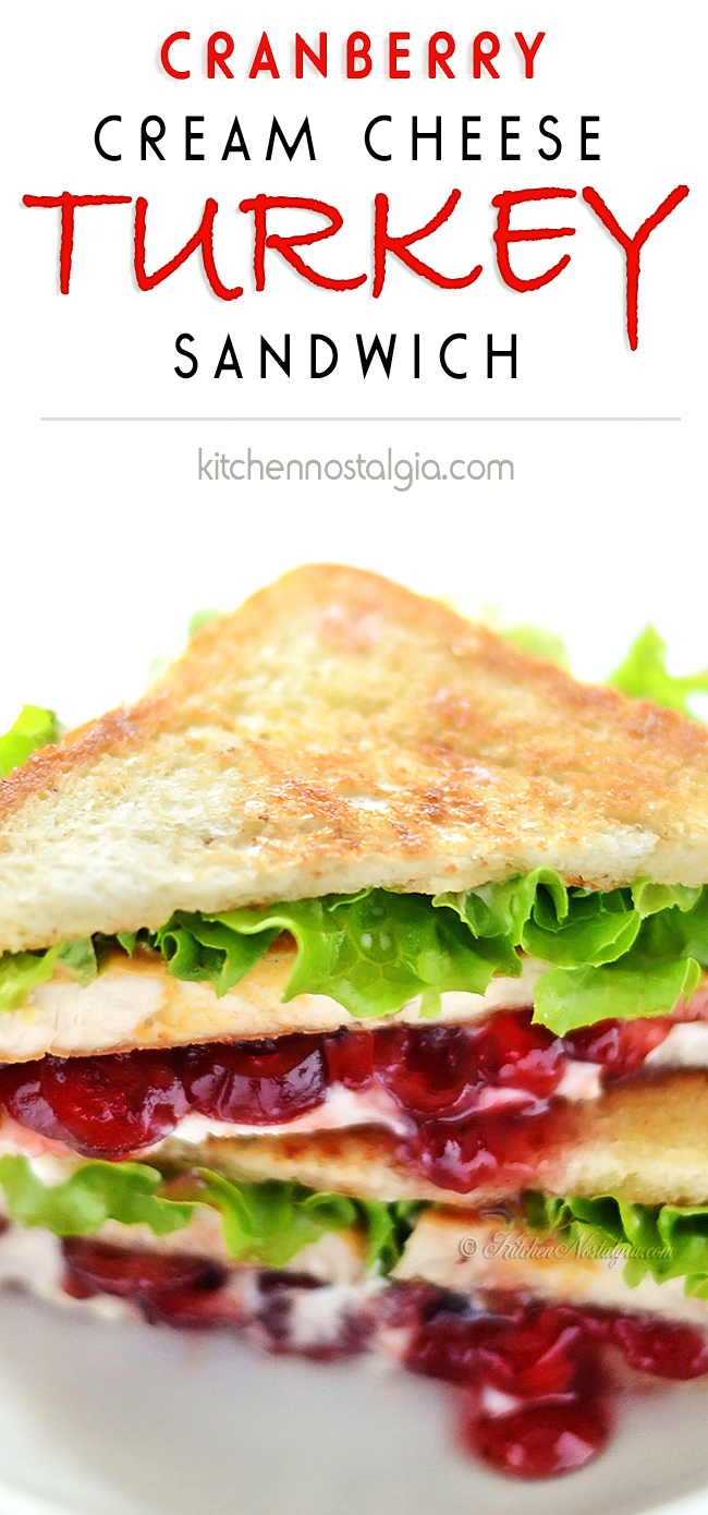Turkey Cranberry Green Chile Sandwich Recipe — Dishmaps