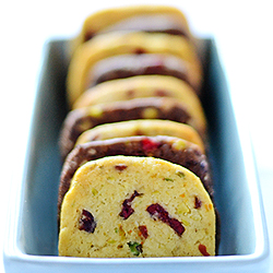 Cranberry Pistachio Orange Cookies