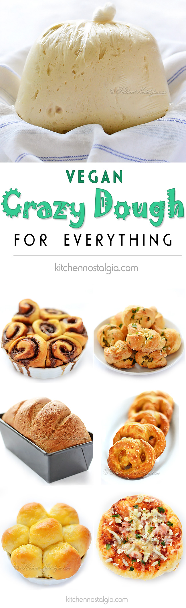 Vegan Crazy Dough | Kitchen Nostalgia