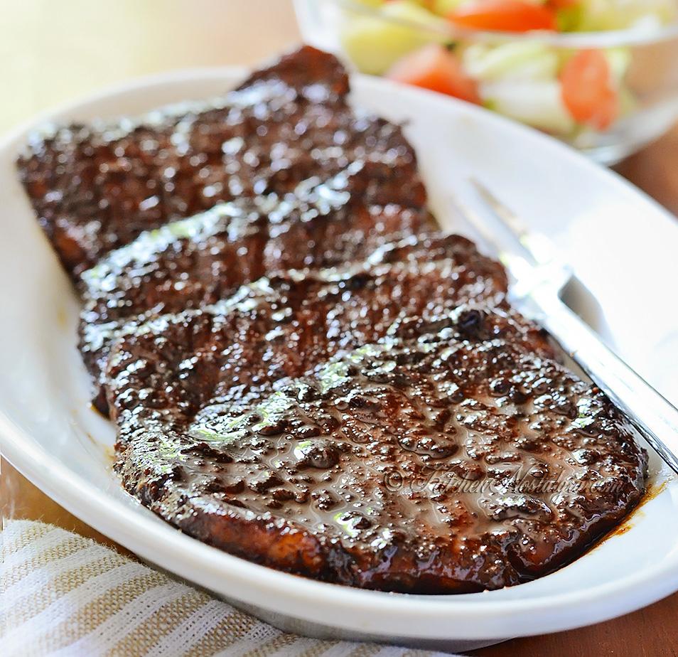 Glazed Boneless Pork Loin Chops Kitchennostalgia Com