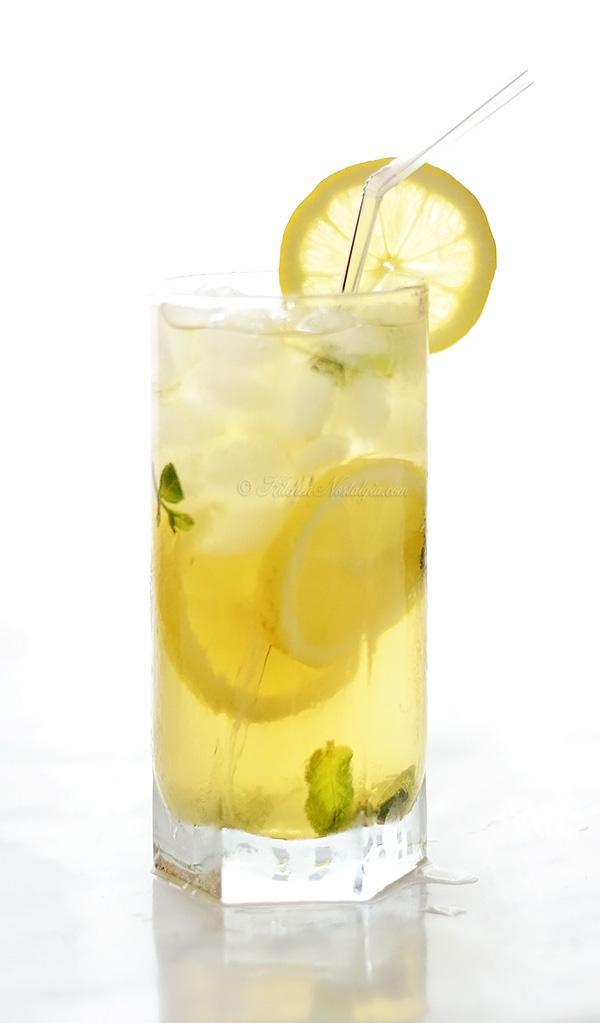 Elderflower Iced Tea - kitchennostalgia.com
