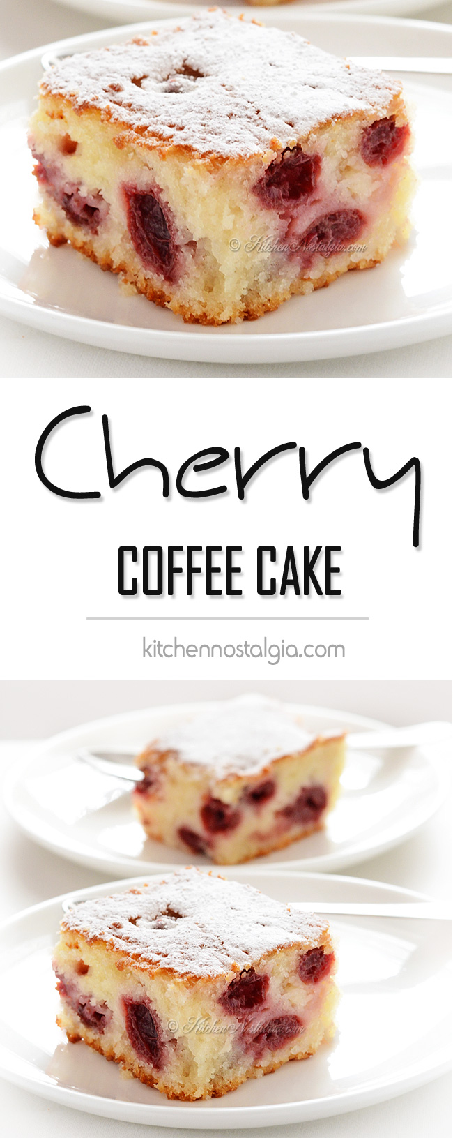Canned Blueberry Coffee Dump Cake