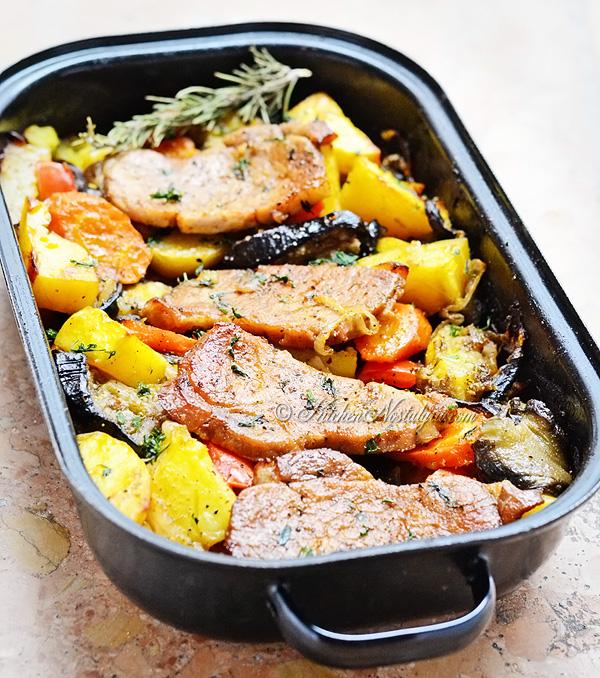 oven baked pork chops kitchen nostalgia