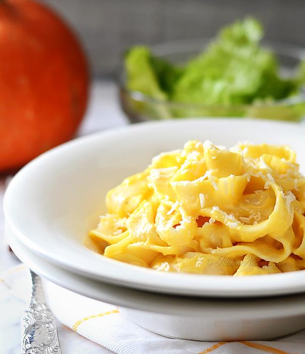 Pumpkin Alfredo Sauce