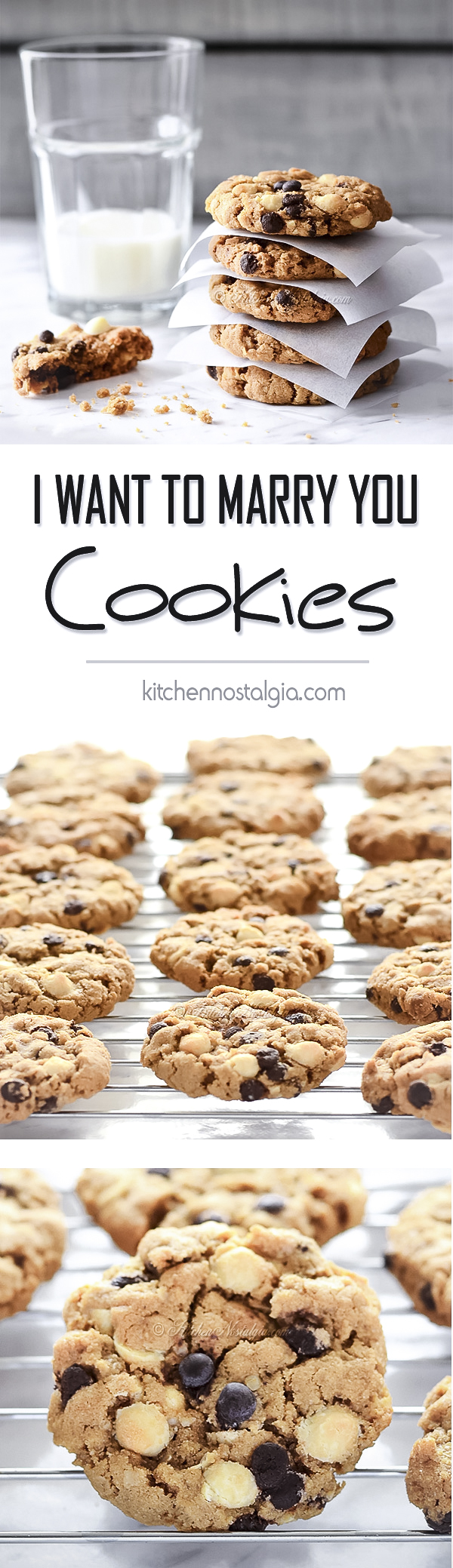 I Want to Marry You Cookies - KitchenNostalgia.com