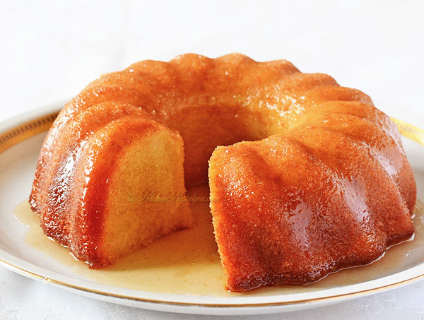 Butter Rum Cake Recipe From Scratch