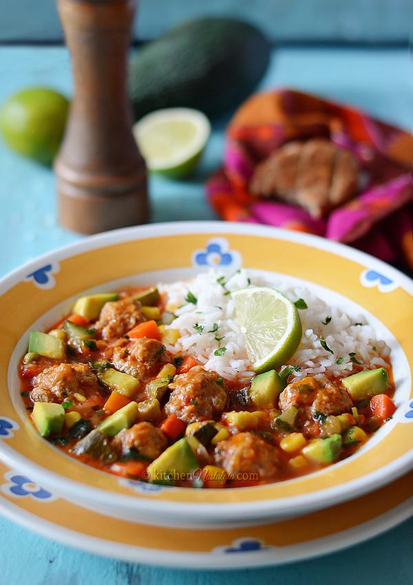 Albondigas - Mexican Meatball Soup